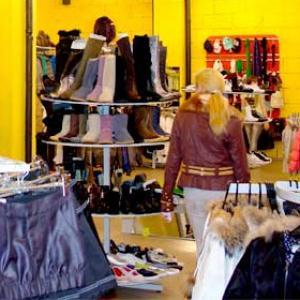 Магазины одежды и обуви Кочубея