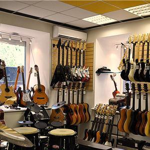 Музыкальные магазины Кочубея